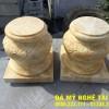 Chân cột đá tại Quảng Bình