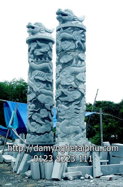 Cột đá đẹp 3
