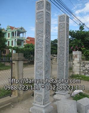 Cột tròn đá