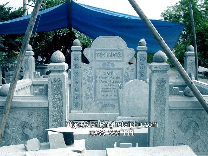 Giá khu lăng mộ, khu lăng mộ đá