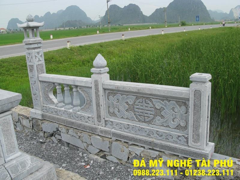 Xây lan can đá tại Ninh Bình