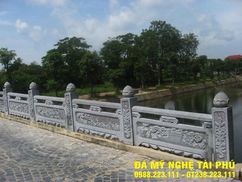 Xây lan can đá tại Quảng Ninh