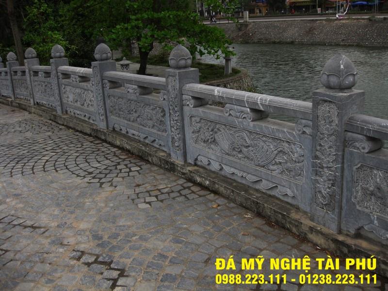 Xây lan can đá tại Quảng Trị