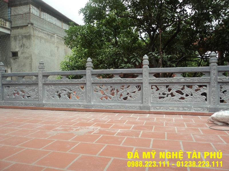 Xây lan can đá tại Thái Nguyên
