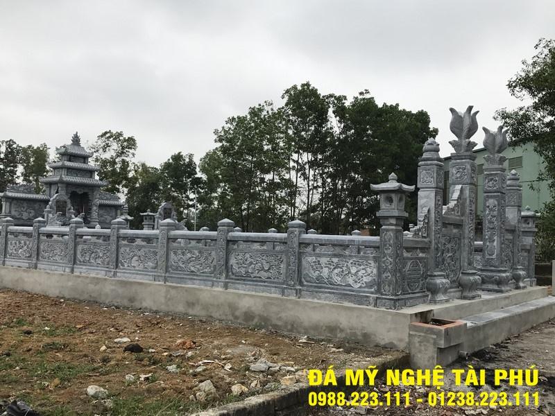 Xây lan can đá tại Huế