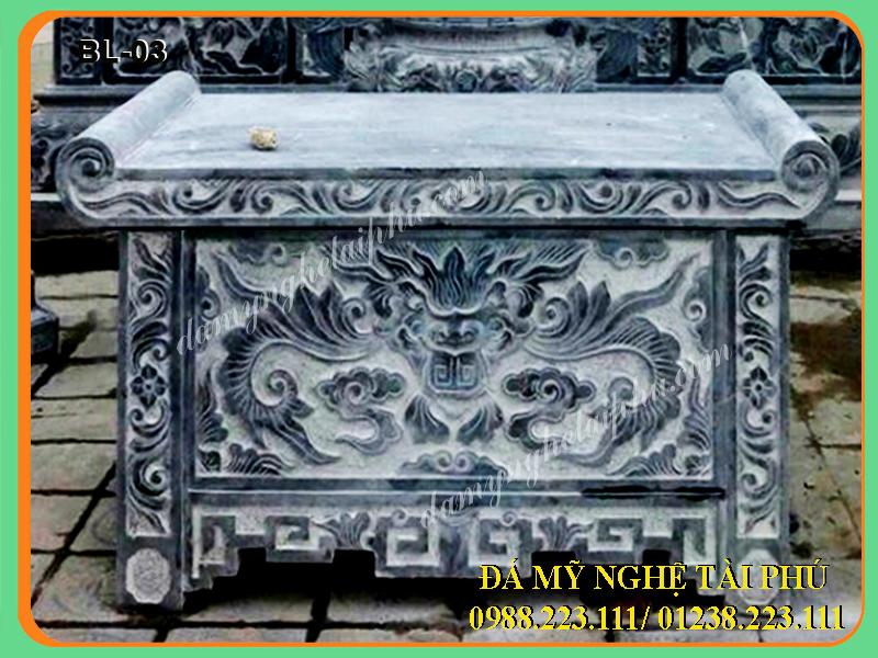 Mẫu bàn lễ đá đẹp nhất, mẫu bàn thờ đá, đồ thờ đá, bàn lễ đá đẹp, mẫu bàn lễ đá, bàn thờ đá