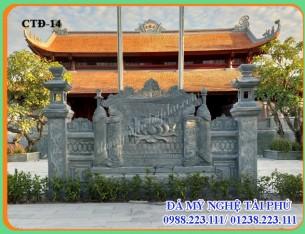 Cuốn thư đá Nhà Tâm Linh tại Vĩnh Phúc