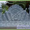 Cuốn thư đá cột tròn lắp tại Bến tre
