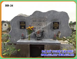 Làm bia đá cho khu lăng mộ bằng đá tự nhiên 26