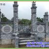 Cổng đá tứ trụ đẹp cho khu lăng mộ