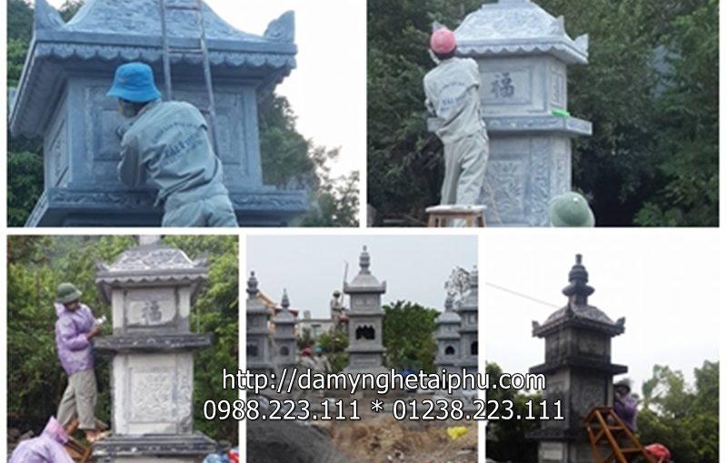 Bao Thap Chua Xuan Vu - Thiet Ke Bao Thap Da Tai Ninh Binh