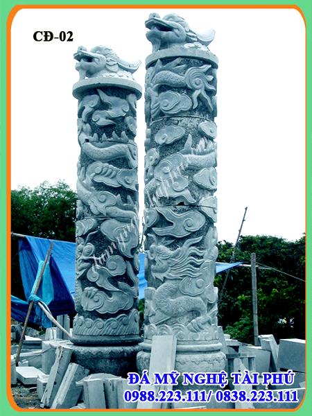 Cột đá đẹp 02