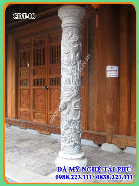 Cột tròn đá, mẫu cột đá tròn, thiết kế cột đá tròn cho Nhà thờ