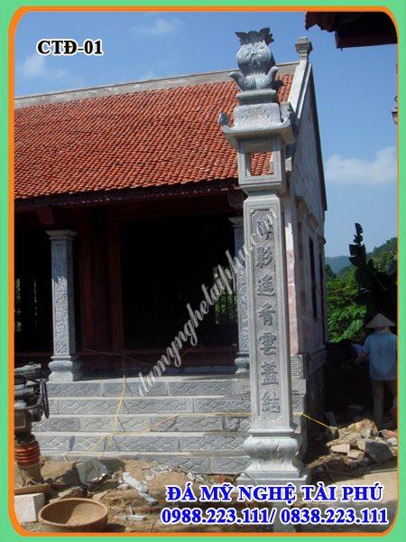 Cột đá, trụ đá nhà thờ, cột đá vuông, trụ đá, cột đồng trụ đá