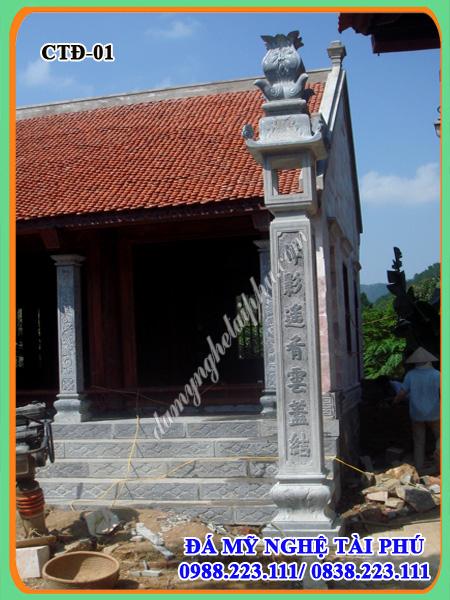 Cột đá, trụ đá nhà thờ