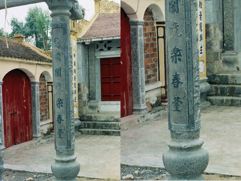 Cột đá, cột đá đẹp, Cột đá nhà thờ