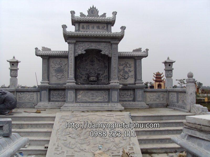 Lăng mộ đá 6 - mẫu lăng mộ đẹp