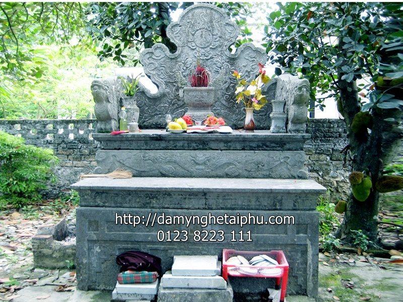 Mộ đá đẹp Tài Phú - Mẫu mộ đá đẹp số 2 của Mộ đá Tài Phú