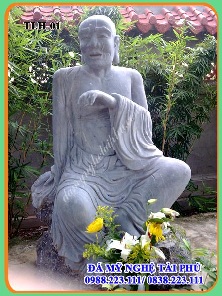 Tượng la hán 01 - Tổ Mã Minh (Asvagosha)