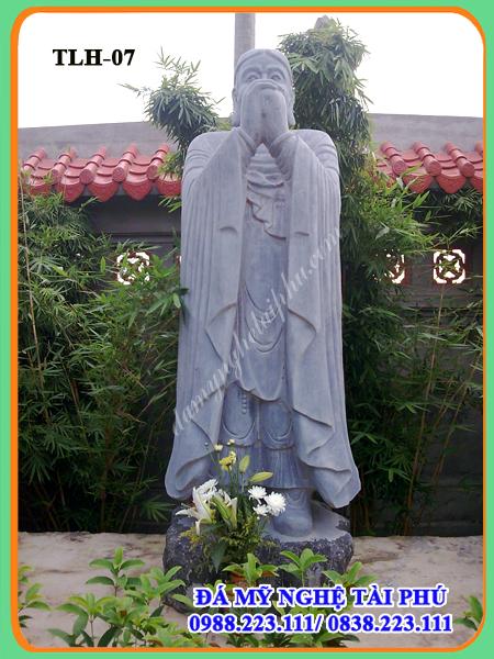 Tượng la hán 07-Bà Tu Mật (Vasumatra)