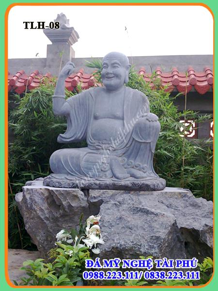 Tượng đá la hán 08-Phật Đà Nan Đề (Bouđhanandi)