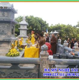 Công trình Bảo tháp tại Chùa Xuân (Chùa Xuân Vũ – Chùa của làng đá mỹ nghệ Ninh Vân, Hoa Lư, Ninh Bình)