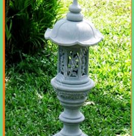 Đèn đá ĐẸP, mẫu đèn đá trang trí 03