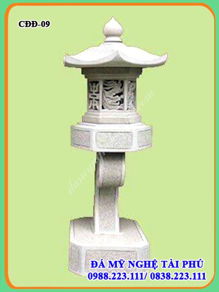 Đèn đá trang trí đẹp 09, đèn đá