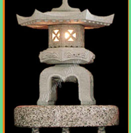Mẫu đèn đá trang trí 6