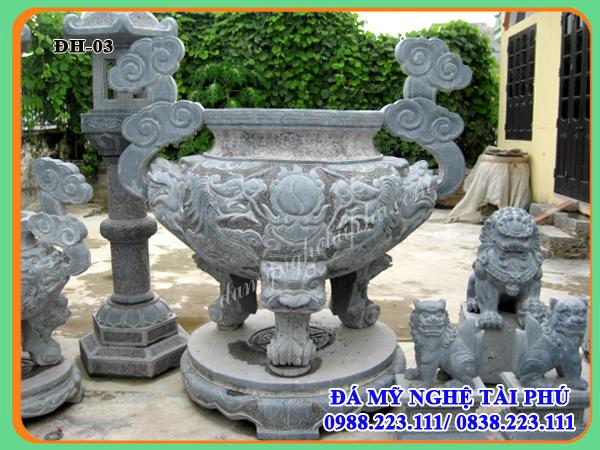 Lư hương đá, đỉnh hương đá, Dinh huong da, Mau Lu huong da, mẫu đỉnh hương đá