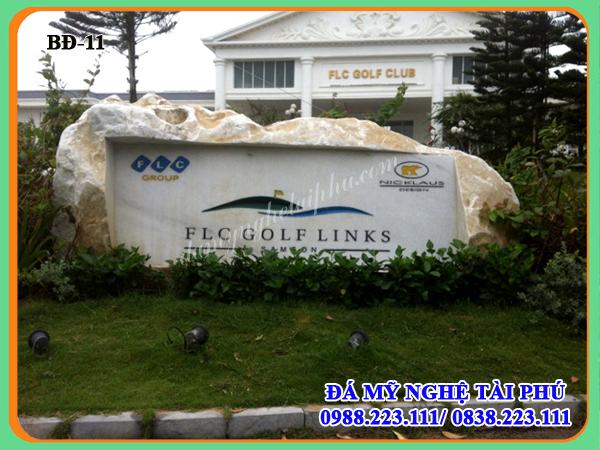Mẫu Bia đá, Bia đá tự nhiên, biển đá công ty, biển hiệu đá tự nhiên -Tập đoàn FLC Thanh hóa