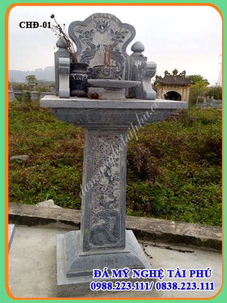 Cay huong da tai phu, cây hương đá, đồ thờ bằng đá