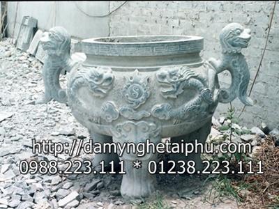 Lam lu huong bang da dep nguyen khoi o Ninh Binh