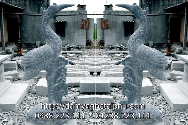 Hạc đẹp, mẫu hạc đá đẹp của Đá mỹ nghệ Tài Phú, Ninh Bình