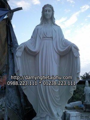 Mau tuong da Tượng chúa Giê Su bằng đá