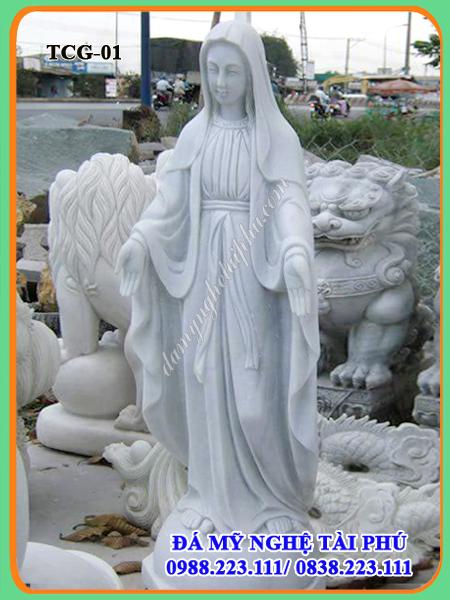 Tượng công giáo bằng đá - Tượng đức mẹ