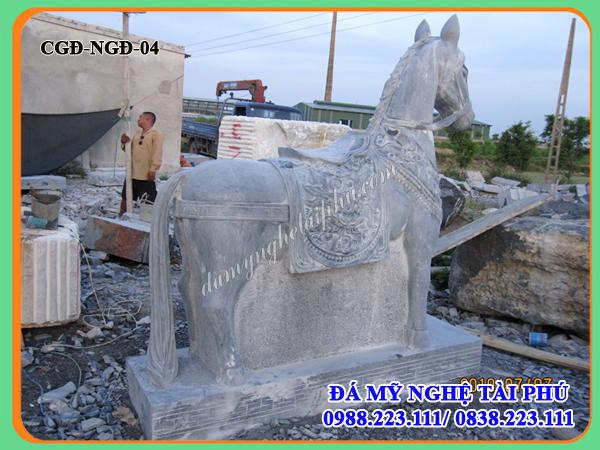 Ngựa đá, Mẫu Ngựa đá đẹp
