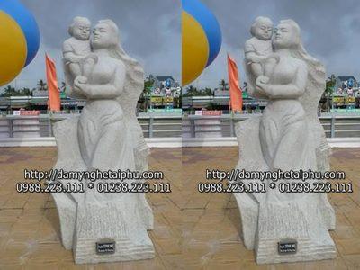 Tuong canh da dep - bán tượng đá, tượng cảnh bằng đá ở Ninh Bình