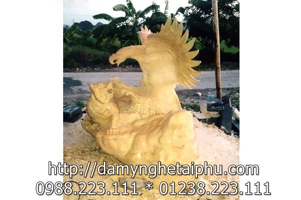 Anh Hùng Tương Ngộ - Tranh đá trang trí Tài Phú