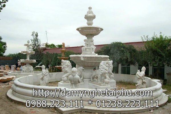 Lam dai phun nuoc - xay dai phun nuoc bang da tren Toan Quoc