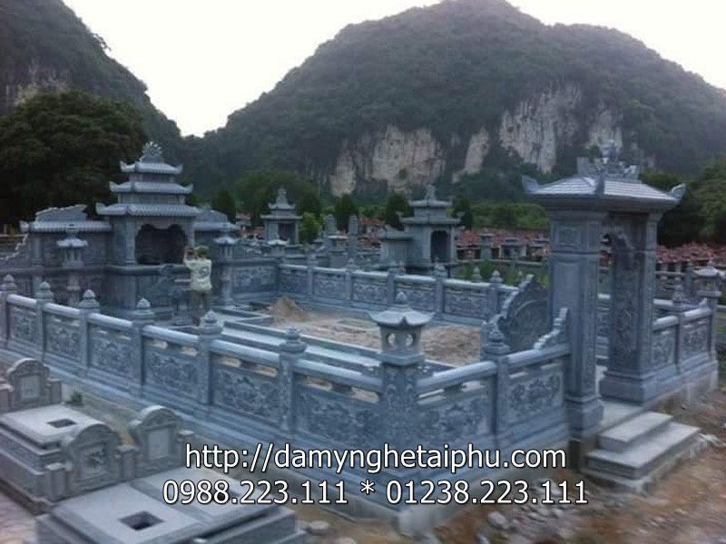 Mau Khu lang mo da dep Ninh Binh