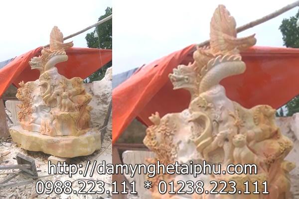 Thập bửu bát, tranh đá đẹp của công ty Tài Phú