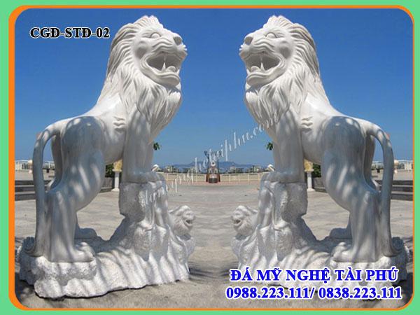 Sư tử đá trắng