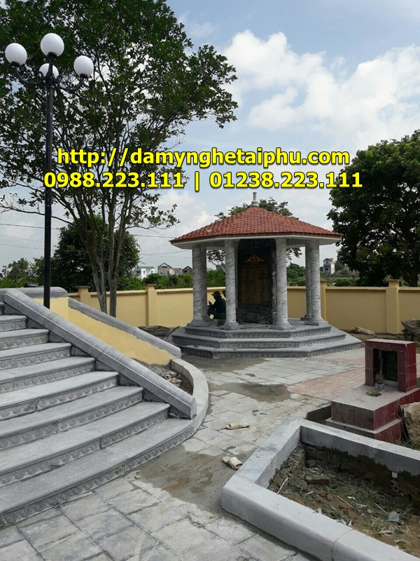 Bac them da - Lau Nghia trang Liet sy (2)