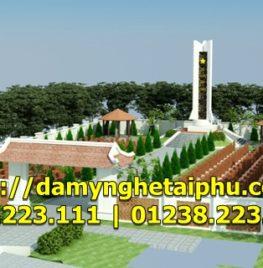 Thiết kế, thi công Nghĩa trang liệt sỹ Xã Đông Thanh, Kim Động, Hưng Yên