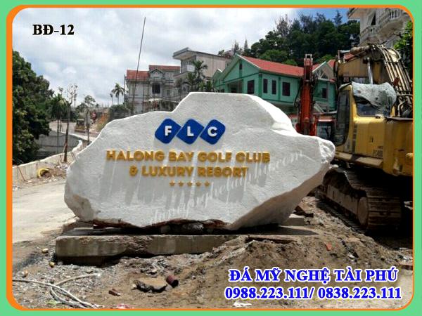 Bia đá công ty-Biển hiệu đá tự nhiên công ty FLC-12