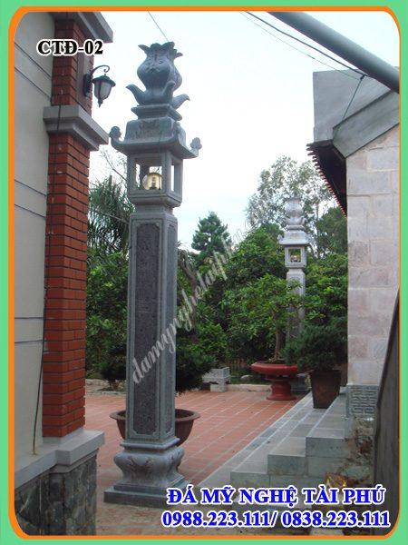 Cột đồng trụ đá nhà thờ, đình chùa, cột trụ đá nhà thờ