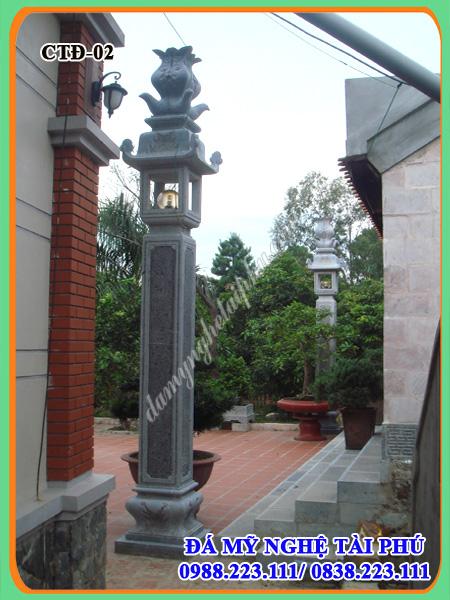 Cột đồng trụ đá nhà thờ, đình chùa