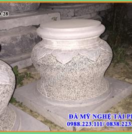 Chân cột đá tại Đồng Tháp
