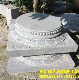 Chân cột đá tại Bình Thuận